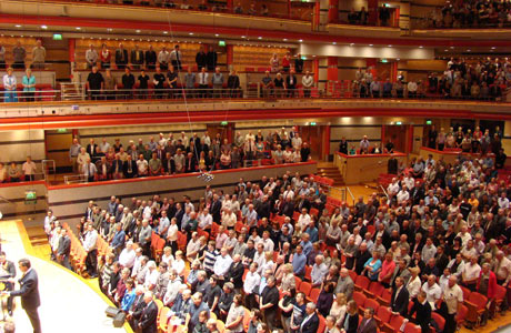 Audience for Black Dyke