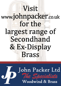 John Packer Ltd have a wide range of new and used baritones, tenor horns and cornets for sale