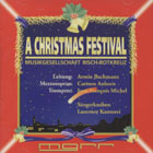 CD cover - A Christmas Festival