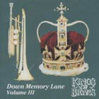 CD cover - Down Memory Lane - Volume III