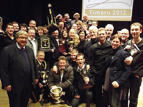Woolston Brass, 2012 New Zealand Champions