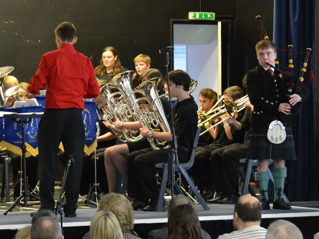 Tes Valley Brass in action