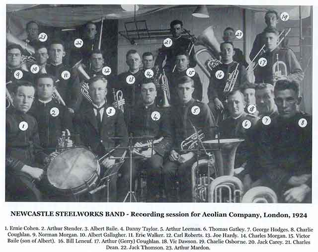 Newcastle Steel Works Band
