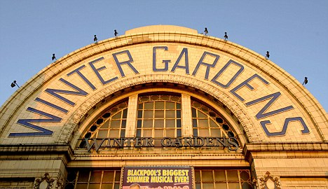 Winter Gardens main sign