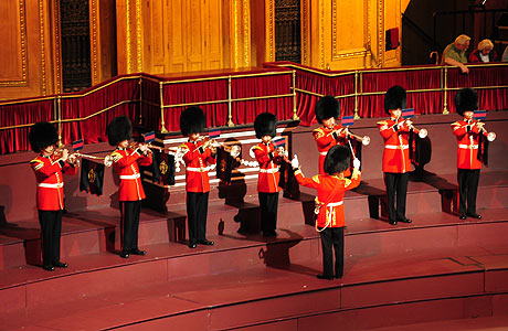 Fanfare Trumpeters Welsh Guards