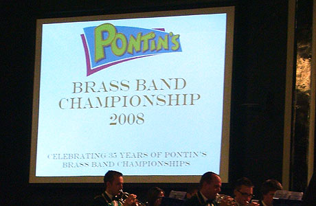 Pontins 2008 welcome screen
