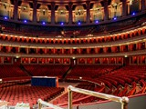 Royal Albert Hall Auditorium in readiness - 20th October 2012