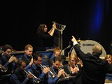 Rijnmond Band in performance