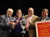 Champions: South Milford Brass, Martin Hall, (North of England)