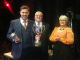 MD Lee Skipsey takes winners awards for City of Bradford Brass in the 2nd Section
