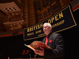 Compere David Hayward:  2015 British Open Championship at the Symphony Hall, Birmingham