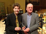 First Section: Best Instrumentalist: Owain Llestyn (cornet) - Llanrug