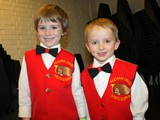 Four year olds Xander and Felix of Hope 