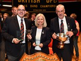 Solo Awards: Glyn Williams - Euphonium : Helen Williams - Flugel : Steve Stewart - Soprano