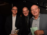 Adjudicators - (L-R) Luc Vertommen Phillip McCann Allan Withington
