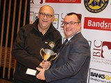 World of Brass trophy for Entertainment Grimethorpe