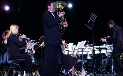 Riki McDonnell and Waratah Brass