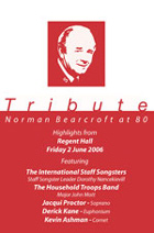 DVD cover: Tribute: Norman Bearcroft