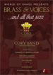 Book cover: BRASS & VOICES...and all that jazz