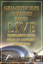 DVD cover: Grimethorpe Colliery Band Live