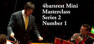 Masterclass No 6: Conducting basics